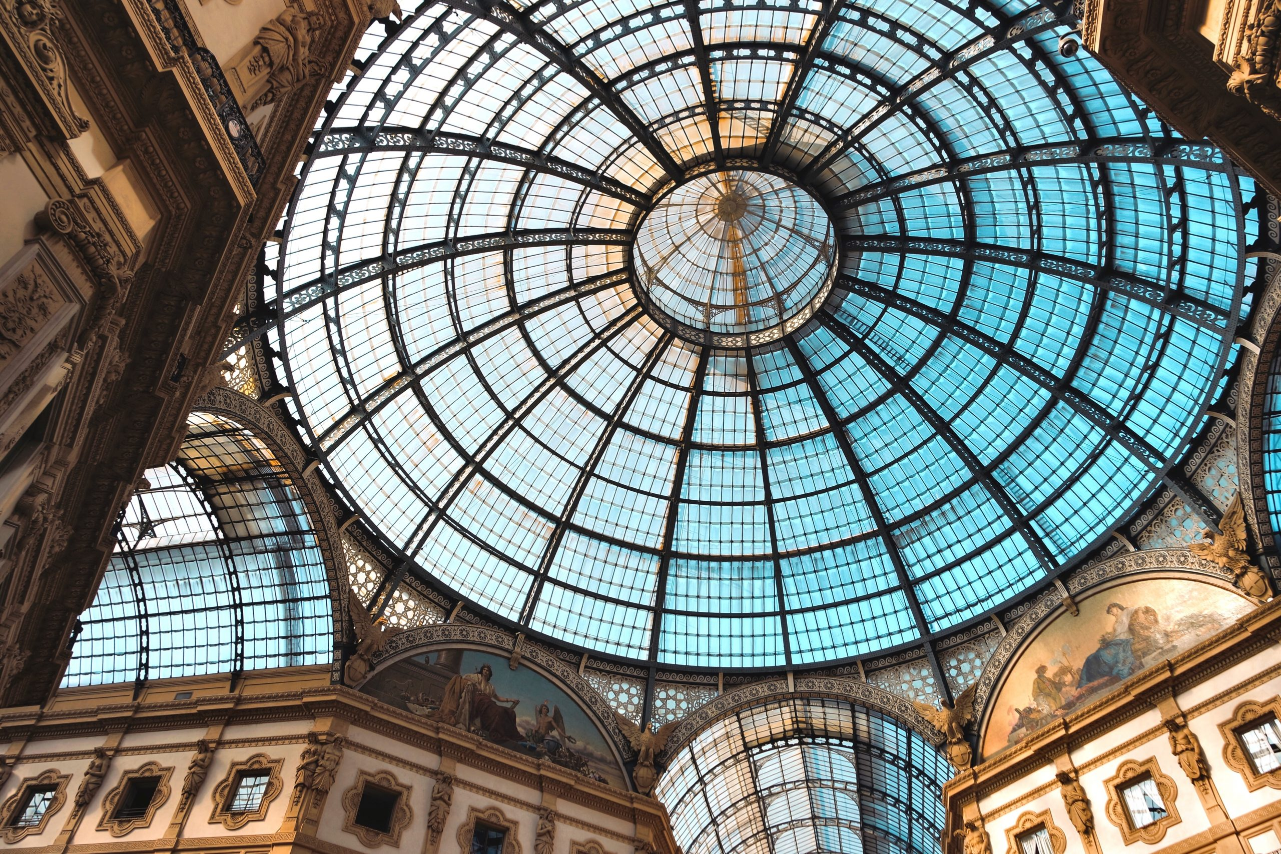 Gran Galleria Vittorio Emanuele II, one of the oldest shopping area of the World