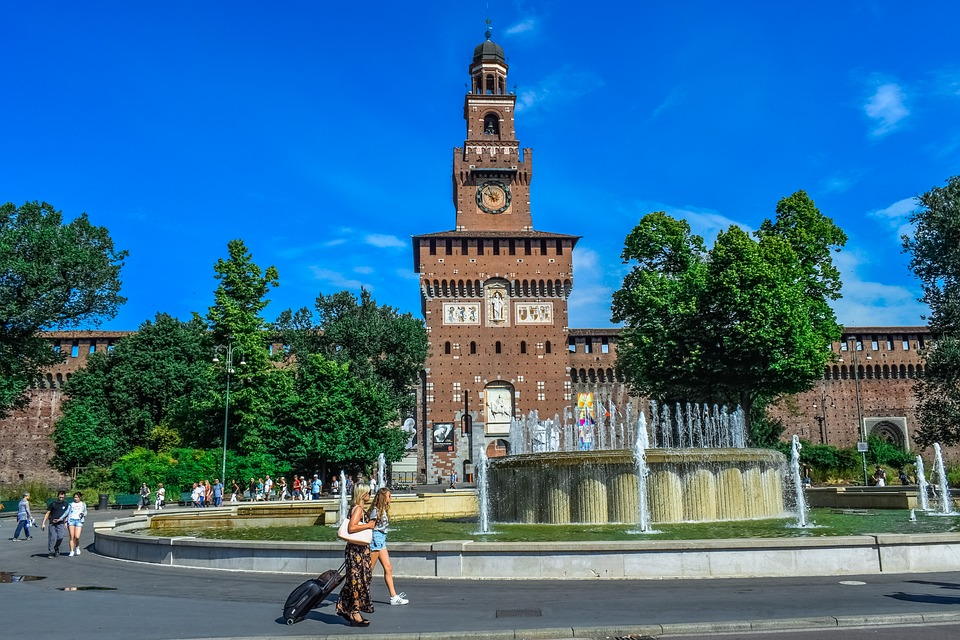 The Sforza Castle